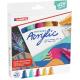 Markery akrylowe Edding 5000 Abstract - 5 kolorów