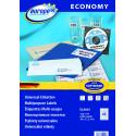 Etykiety uniwersalne Economy A4 - 38x21,2mm /100 ark