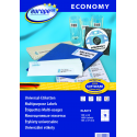 Uniwersalne etykiety Economy A4 - 105x37mm /100 ark