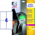 Polietylenowe etykiety ultra resistant A4 - 99,1x139mm Avery Zweckform / 10 ark