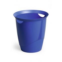 Kosz na śmieci TREND - niebieski