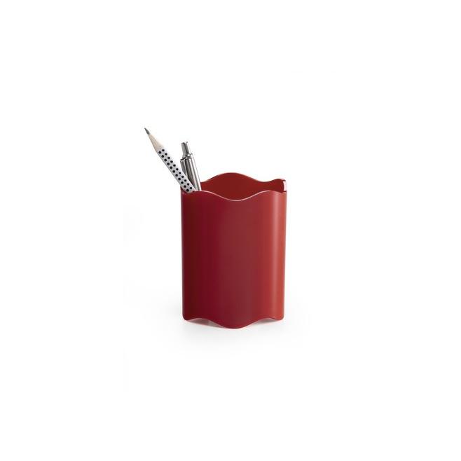 Pojemnik na długopisy TREND - czerwony