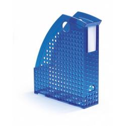 Pojemnik na katalogi A4 TREND -niebieski / transparentny