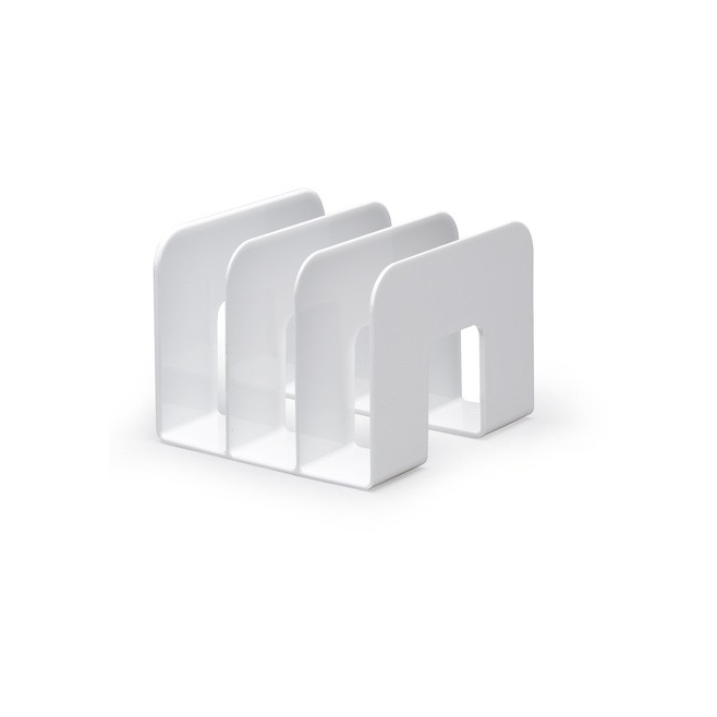 Stojak na katalogi TREND - biały