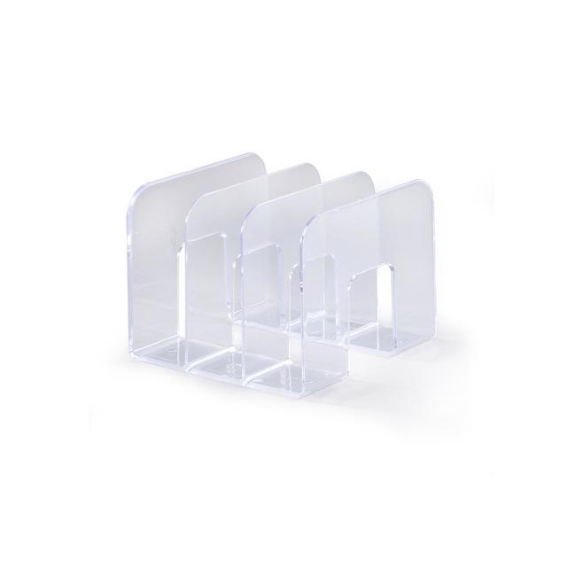 Stojak na katalogi TREND - transparentny