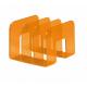 Stojak na katalogi TREND - pomarańczowy  /  transparentny