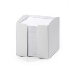 Pojemnik z karteczkami Trend - biały