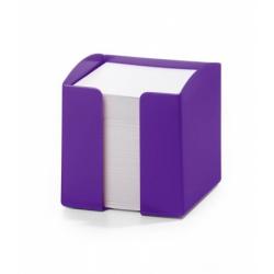 Pojemnik z karteczkami Trend - fioletowy