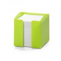 Pojemnik z karteczkami Trend - zielony