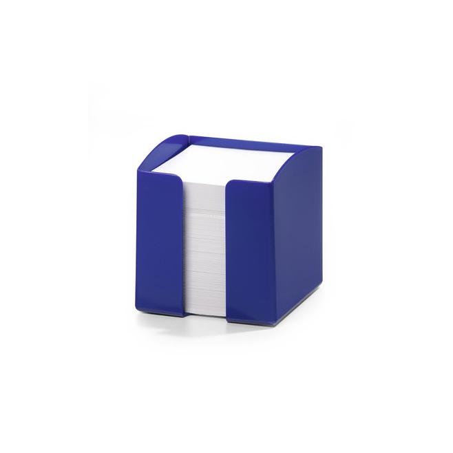 Pojemnik z karteczkami Trend - niebieski