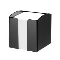Pojemnik z karteczkami Trend - czarny