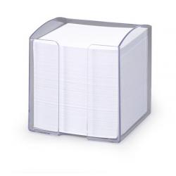 Pojemnik z karteczkami Trend - transparentny
