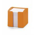 Pojemnik z karteczkami Trend - pomarańczowy