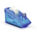 Dyspenser z taśmą samoprzylepną Trend - niebieski  /  transparentny