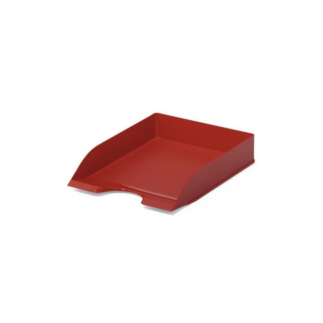 Półka na dokumenty A4 Basic - czerwona