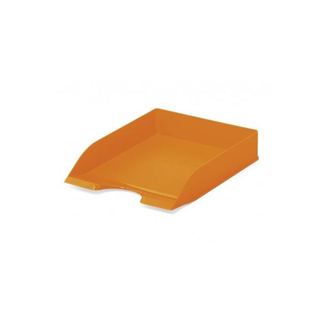 Półka na dokumenty A4 Basic - pomarańczowa