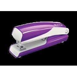 Zszywacz mini Leitz WOW - fioletowy metaliczny