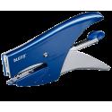 Zszywacz nożycowy mały Leitz metalowy - niebieski
