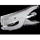 Zszywacz nożycowy średni Leitz metalowy - srebrny