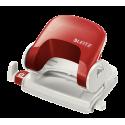 Dziurkacz średni Leitz NeXXt Series - czerwony