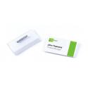 Identyfikator z agrafką - 40x75 mm /100 szt