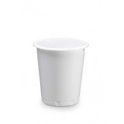 Kosz na śmieci BASIC - biały