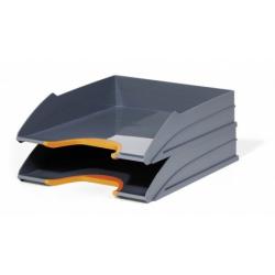Półki na dokumenty VARICOLOR TRAY SET DUO - pomarańczowe