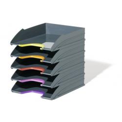 Półki na dokumenty VARICOLOR - szare