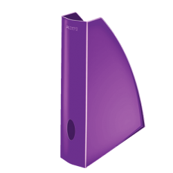 Pojemnik na dokumenty A4 Leitz WOW - fioletowy