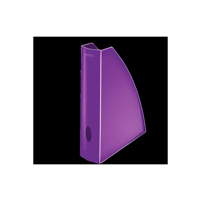 Pojemnik na dokumenty Leitz WOW, fioletowy