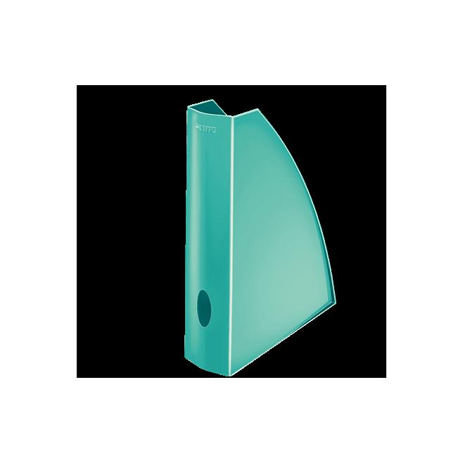 Pojemnik na dokumenty Leitz WOW, turkusowy