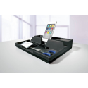 Przybornik na biurko Smart Office VARICOLOR - szary