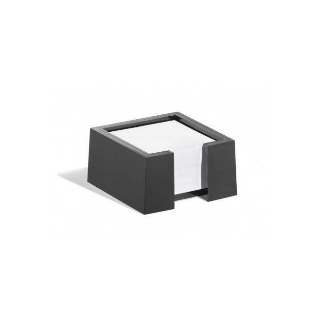 Pojemnik z karteczkami CUBO - czarny