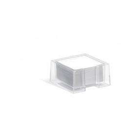 Pojemnik z karteczkami CUBO - transparentny