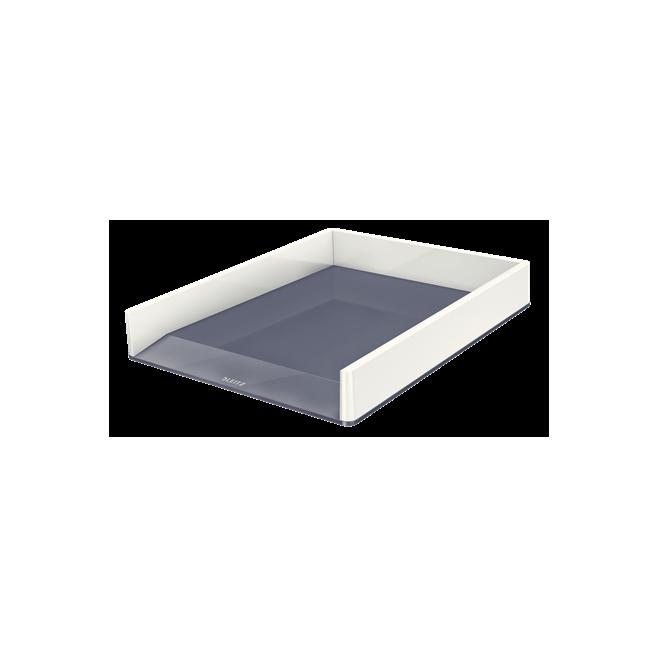 Półka na dokumenty Leitz WOW - dwukolorowa, biała