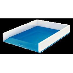 Półka na dokumenty Leitz WOW - dwukolorowa, niebieski