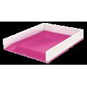 Półka na dokumenty Leitz WOW - dwukolorowa, różowa