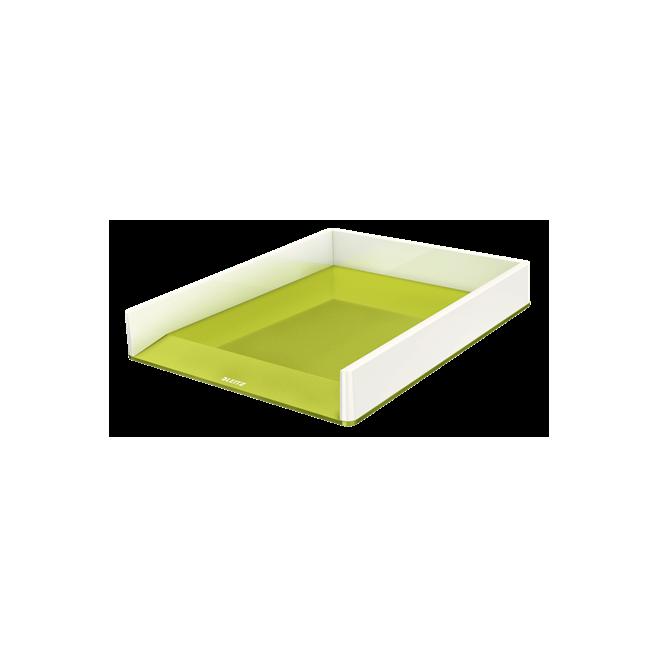 Półka na dokumenty Leitz WOW - dwukolorowa, zielony
