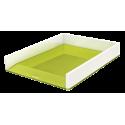 Półka na dokumenty Leitz WOW - dwukolorowa, zielona