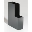 Pojemnik na katalogi A4 Durable CUBO - czarny