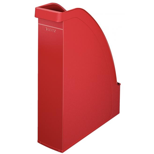 Pojemnik na czasopisma Leitz Plus - czerwony