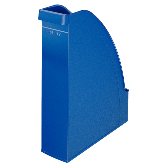 Pojemnik na czasopisma Leitz Plus - niebieski