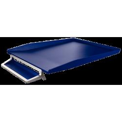 Półka na dokumenty Leitz Style z miejscem na długopis - niebieska