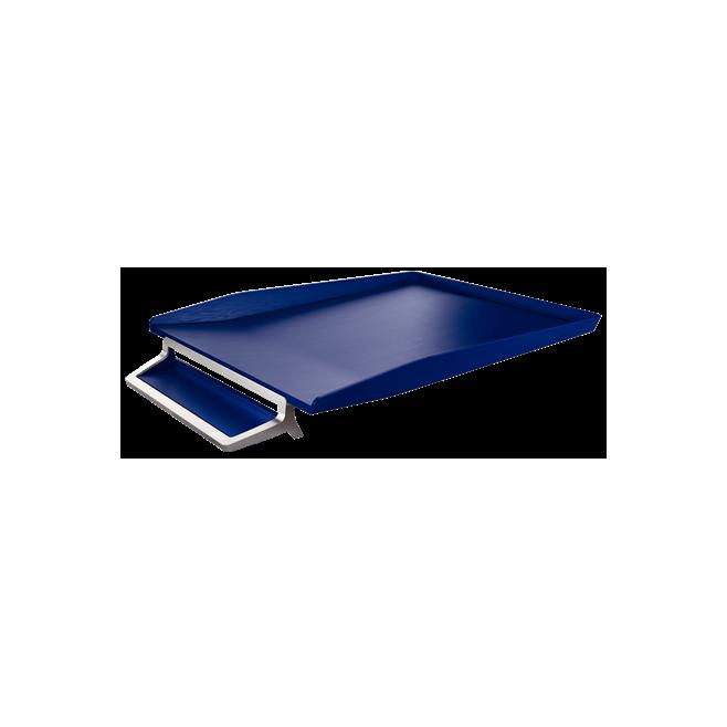 Półka na dokumenty Leitz Style z miejscem na długopis - niebieski