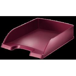 Półka na dokumenty Leitz Style - ciemnoczerwona