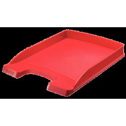 Półka na dokumenty Leitz Plus- Slim - czerwona