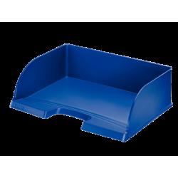 Półka na dokumenty otwarta od dłuższego boku Jumbo - niebieska