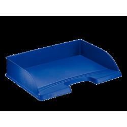 Półka na dokumenty otwarta od dłuższego boku - niebieska