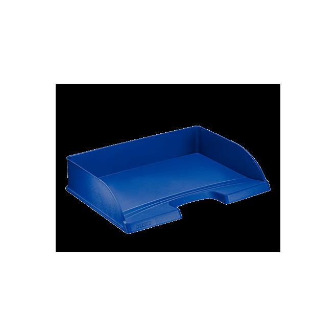 Półka na dokumenty otwarta od dłuższego boku - niebieski