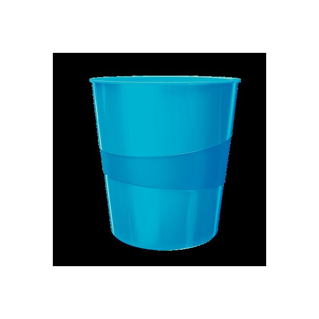 Kosze na śmieci 15L Leitz WOW - niebieski